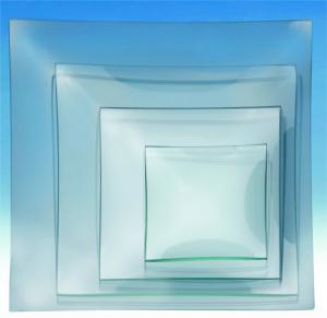 Glasteller 25x25 cm