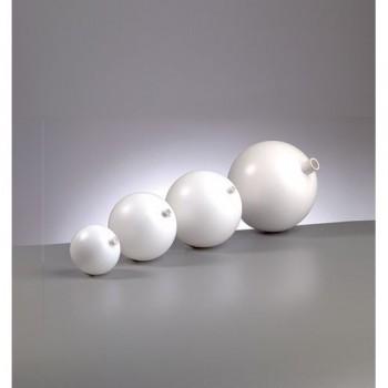 Kunststoffkugel mit Stutzen in verschiedenen Größen erhältlich